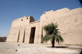 Templo de Medinat Habu - Templos de egipto