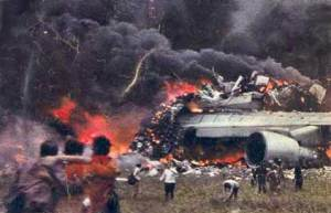peores desastres aéreos