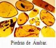 ambar en la artesania Dominicana