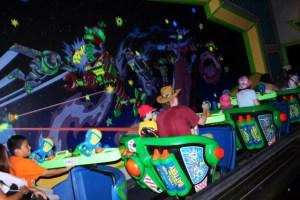 10.- Buzz Lightyear's Space Ranger Spin Mejores atracciones en Disney World