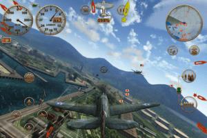 7 Sky Gamblers Mejores Juegos de aviones para Android