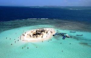 Cayo Arena - 10 Lugares románticos de República Dominicana