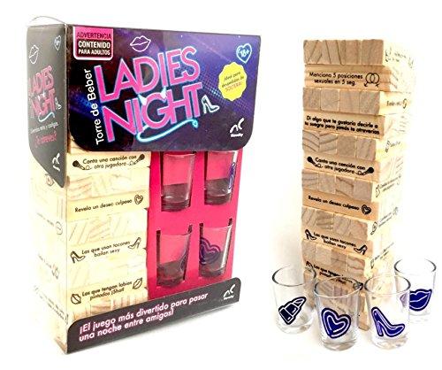 Jenga Torre Del Beber Ladies Night Top 10 Productos