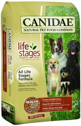 CANIDAE-Life-Stages-Dry-Dog-Food-for-Puppies,-Adults-&-Seniors