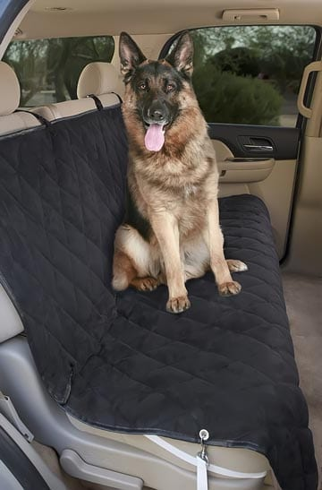 Deluxe-Pet-Car-Seat-Cover,-Quilted,-Water-Resistant,-and-Machine-Washable