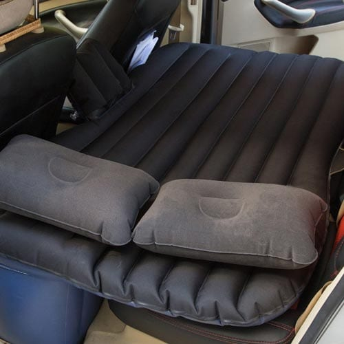 Goldhik-Car-Mobile-Cushion-Air-Bed-Oxford-Fabric-Inflatable-Mattress-Car-Travel&-Camping-Universal-Extended-Air-Couch-Outdoor-Sofa-with-Two-Air-Pillow-(Black)