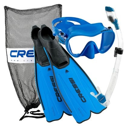 Cressi-Rondinella-Full-Foot-Mask-Fin-Snorkel-Set-with-Bag
