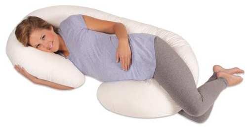 Leachco-Snoogle-Total-Body-Pillow,-White