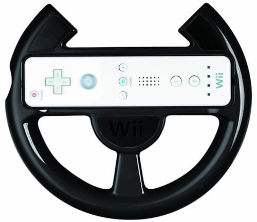 Official-Nintendo-Wii-Comfort-Racing-Wheel---Black