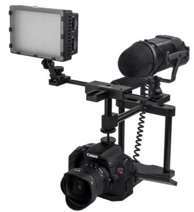 Opteka-X-GRIP-EX-PRO-Metal-Video-Action-Stabilizing-Handle-for-Digital-SLR-Cameras-and-Video-Camcorders