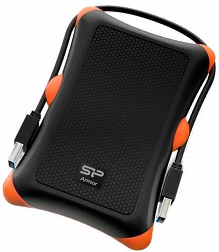 Silicon-Power-1TB-Rugged-Armor-A30-Shockproof-Standard-2.5-Inch-USB-3.0-Military-Grade-Portable-External-Hard-Drive,Black-(SP010TBPHDA30S3K)