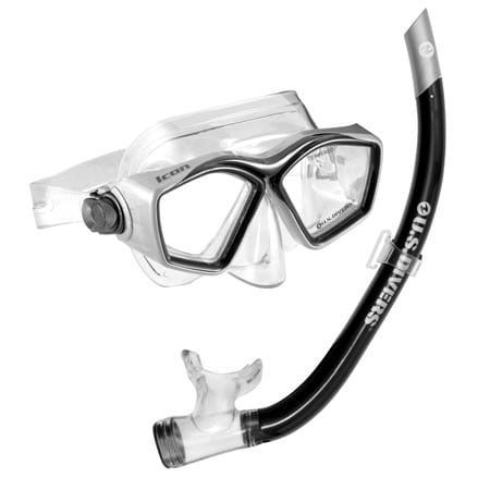 U.S.-Divers-Icon-Mask-and-Airent-Snorkel