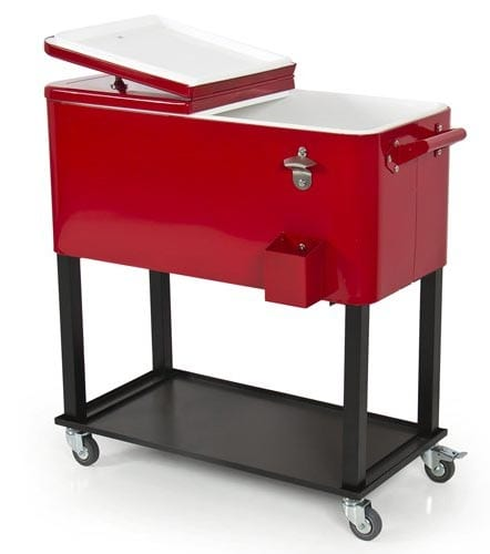 Best-Choice-Products]Patio-Deck-Cooler-Rolling-Outdoor-65-Quart-Solid-Steel-Construction-Home-Party