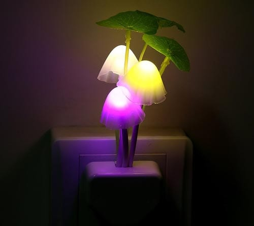 Night-Light-Mushroom-Lamp-Energy-Saving-Color-Changing-LED-Sensor-Night-Lamp-Light-Green-Plants-on-the-Wall