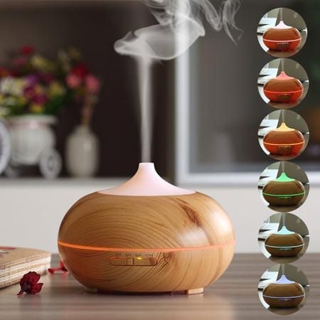 URPOWER-300ml-Aroma-Essential-Oil-Diffuser-Urpower-Wood-Grain-Ultrasonic-Cool-Mist-Whisper-Quiet-Humidifier-with-Color-LED-Lights-Changing