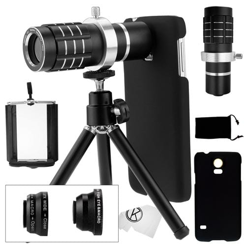 Camera-Lens-Kit-for-Samsung-Galaxy-S5-incl--12x-Telephoto-Lens