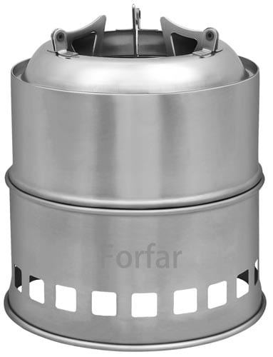 Forfar-Camping-Stove,-Portable-Stainless-Steel-Stove,-Lightweight--Charcoal--Solidified-Alcohol--Wood-Camp-Stove-with-Mesh-Bag-for-Camping,-Picnic,-Outdoor-Cooking,-BBQ,-Hiking-Emergency-Preparation