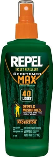 Repel-94101-6-Ounce-Sportsmen-Max-Insect-Repellent-40-Percent-DEET-Pump-Spray,-Case-Pack-of-1