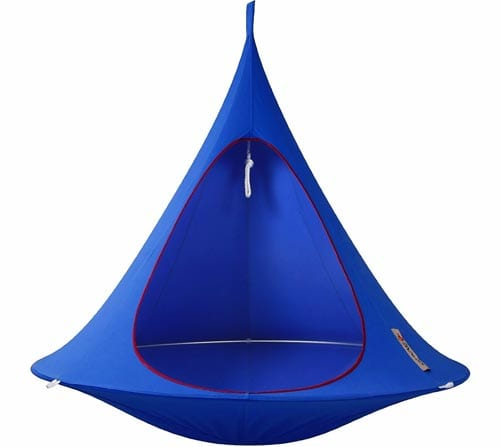 Cacoon-Double-hanging-Chair-tries-Sky-Blue