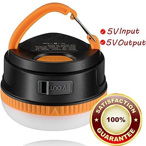 Rechargeable-LED-Camping-Lantern,-Vinsun-3000mAh-High-Capacity-Power-Bank-5V-Output,-Brightest-Tent-Lantern,-for-Outdoor-Backpacking,-Camping,-Hiking,-Picnic,-Tents,-Emergency,-Autos,-Beach,-Home