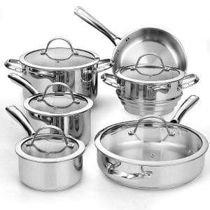 Top 10 Best Stainless Steel Cookware Set 2018 Reviews