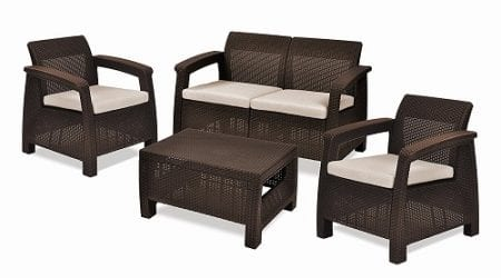 Top 10 Best Garden Furniture Sets in 2019 Reviews
