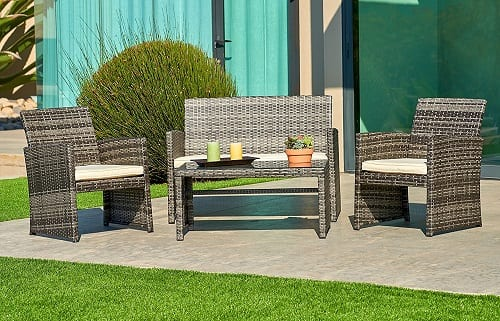 Terrific Top 10 Best Garden Furniture Sets In 2019 Reviews Top10Rec Download Free Architecture Designs Lukepmadebymaigaardcom