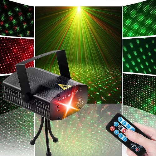 Top 10 Best Stage Laser Lights in 2018 Reviews