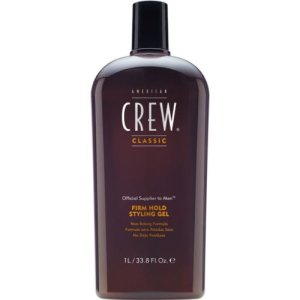 1. American Crew Firm Hold Styling Gel, 33.8-Ounce Bottle