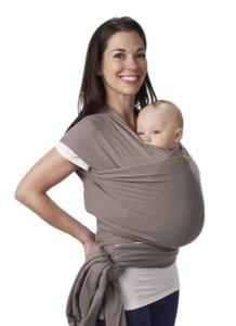 1.Boba Grey Baby Wrap