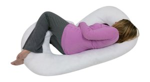 10. Blowout Bedding C Shaped Maternity Pillow