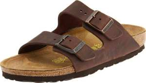 2. Birkenstock Unisex Arizona Soft Footbed Sandals