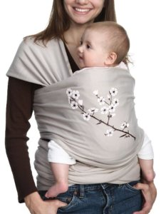 5. Moby Wrap Cotton Baby Carrier