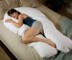 6. Moonlight Slumber Comfort U Maternity Pillow