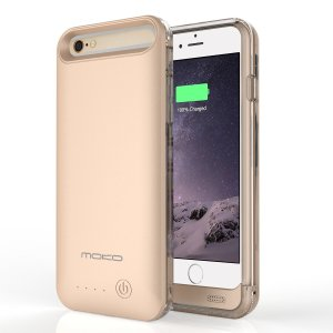 5. MoKo iPhone Extended Battery Charging Case