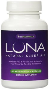 6. LUNA - 60 Vegetarian Capsules - #1 Natural Sleep Aid on Amazon