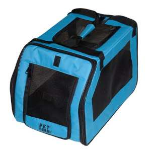 6. Pet Gear Pet Gear Car Seat & Carrier for cats and dogs up to 20-pounds, Black