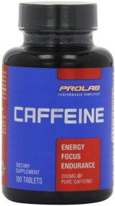7. ProLab Caffeine Maximum Potency 200mg Tablets