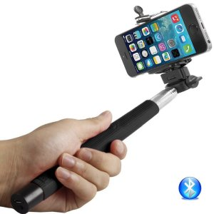 8. Selfie Stick Bluetooth Monopod - Extendable Wireless Bluetooth Control