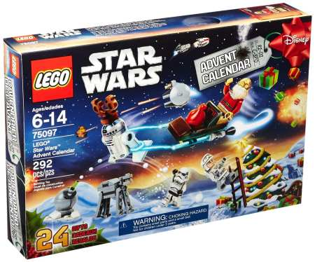 2. LEGO Star Wars 75097 Advent Calendar Building Kit