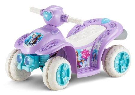 4. Kid Trax Frozen 6V Toddler Quad Ride On