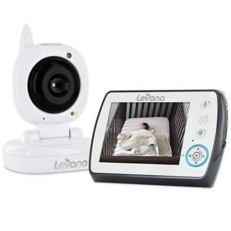 4. Levana Ayden Digital Video Baby Monitor
