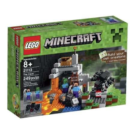 5. LEGO Minecraft The Cave 21113 Playset