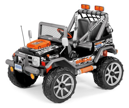6. Peg Perego Gaucho Rock'in Ride-On, Black