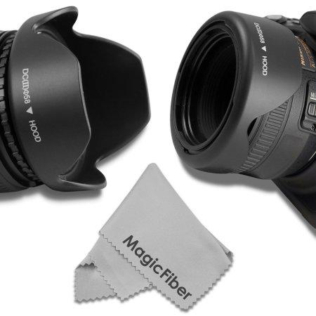 2.Goja Reversible Flower Lens Hood