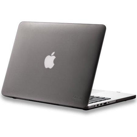 2.Kuzy Retina Gray Hard Case for Macbook Pro