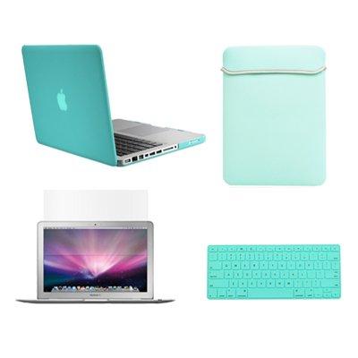 9.Top Case Bundle Turquoise MacBook Case Cover