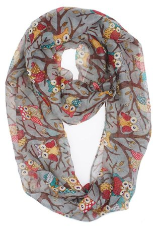 9.Vivian & Vincent Soft Lightweight Sheer Scarf