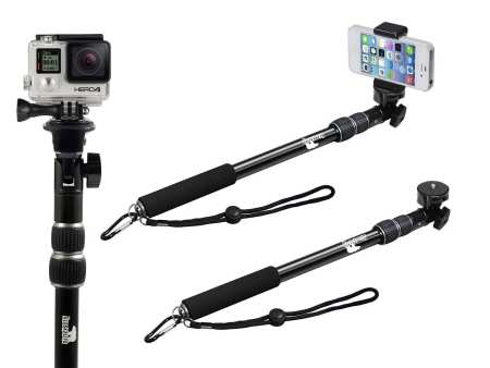 5.The Best Waterproof Selfie Stick for GoPro Review 2016