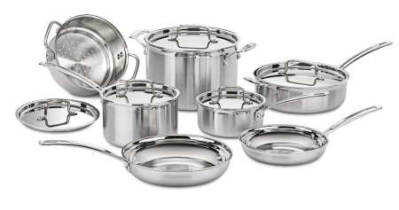 8.Top 10 Best Stainless Steel Cookware Set Review in 2016